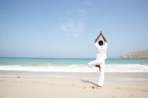 Yoga-spiaggia