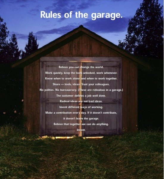 11 rules of garage