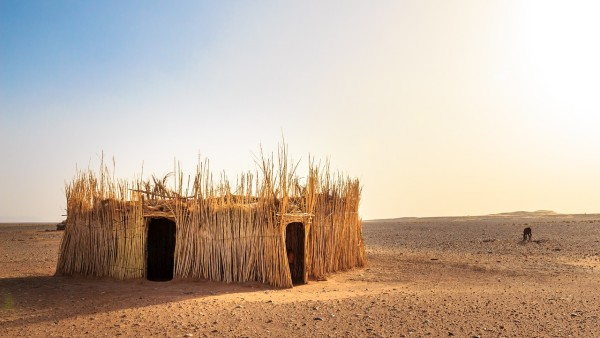 casa nel deserto