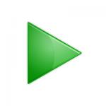 freccia dx verde