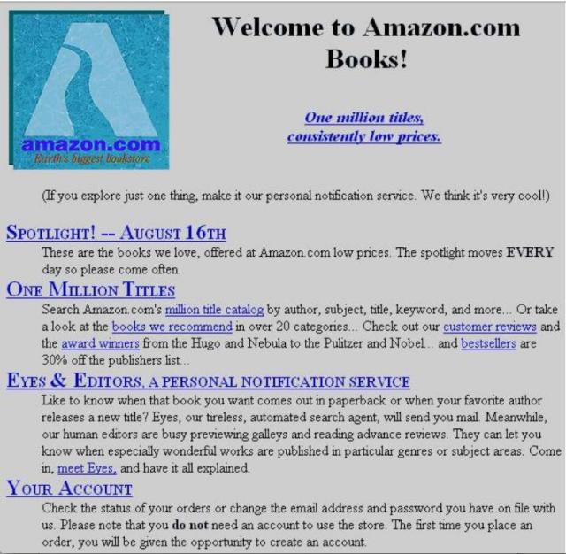 Amazon prima HomePage